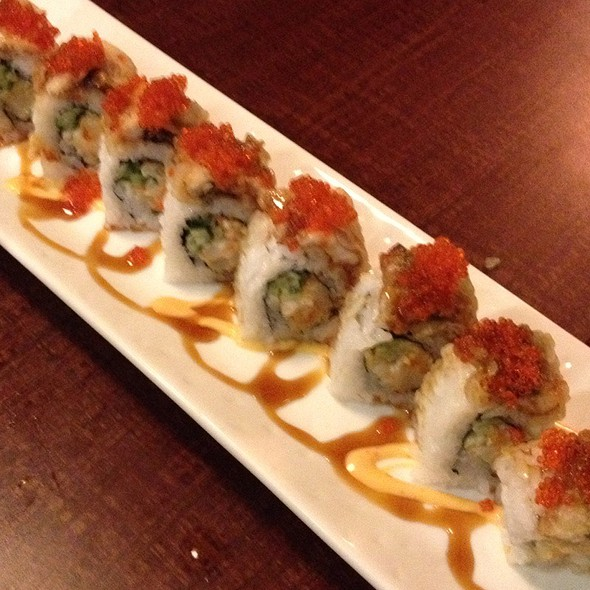 Chopped Scallop Unagi Roll @ Shota Sushi