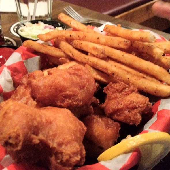 Fish and Chips @ Lafayette Brewing Co