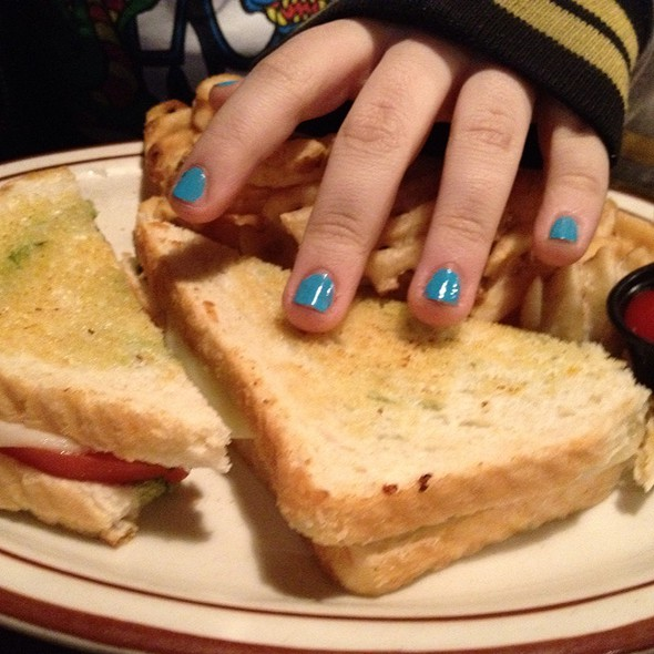 Pesto Grilled Cheese @ Lafayette Brewing Co