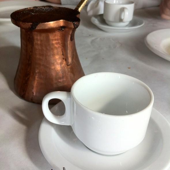 Arabic coffee @ Shish Cafe Inc