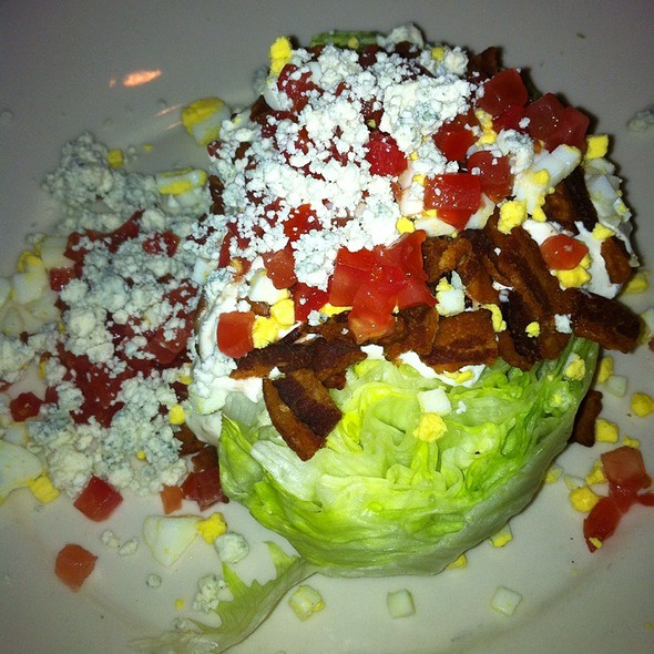 Blue Cheese Wedge Salad @ Morton's the Steakhouse