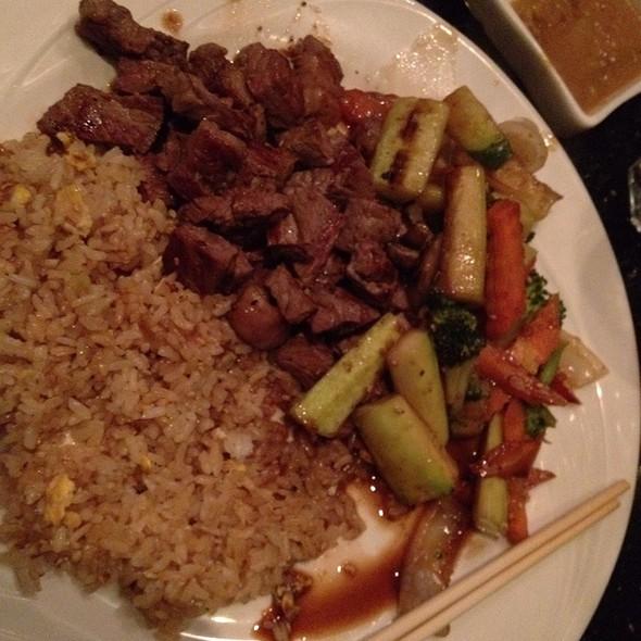 Hibachi Steak - Sakura Garden Japanese Restaurant, Glastonbury, CT