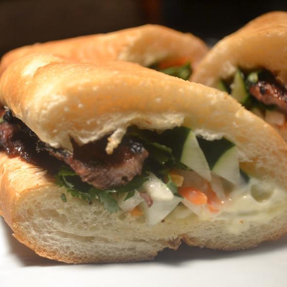 Vietnamese Ham Banh Mi Sandwich @ Hawkers Asian Street Fare