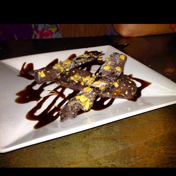 Chocolate Covered Bacon @ Ella's