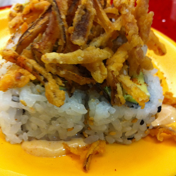 Beefy Texan Roll @ Roll On Sushi Diner