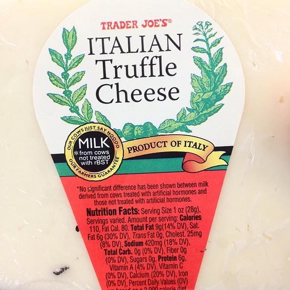 Italian Truffle Cheese @ Trader Joe's