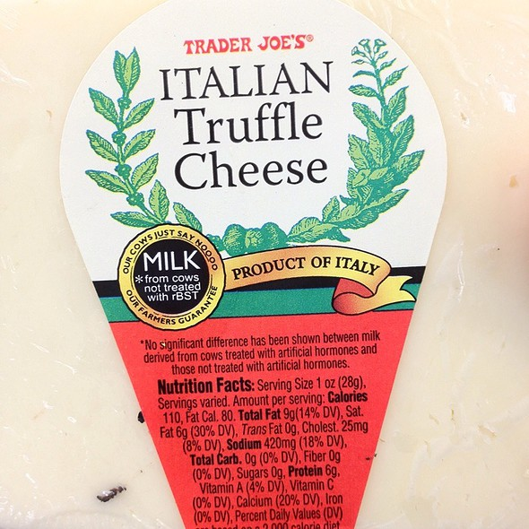 Italian Truffle Cheese @ Trader Joe's