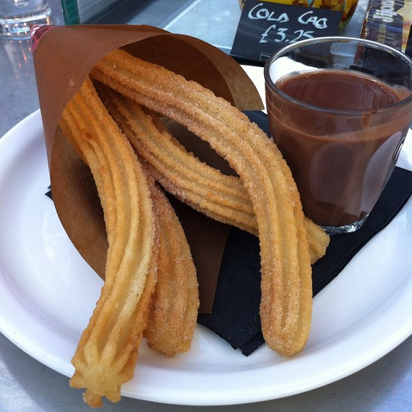 Churros con Chocolate @ Tapas Revolution