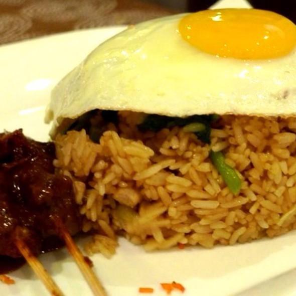 Nasi Goreng With Pork Satay @ Ratatouille Restaurant