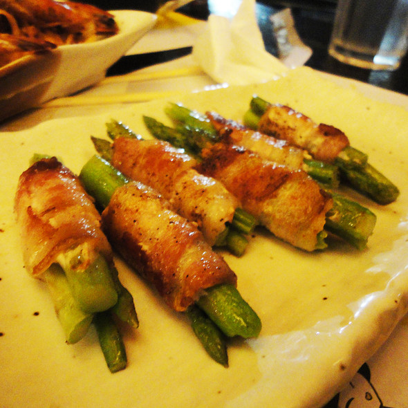 Asupara Bacon Maki @ Teriyaki Boy