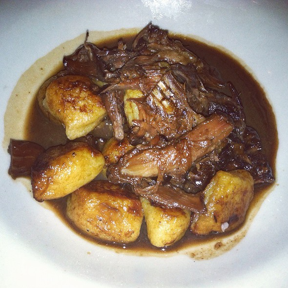 Toasted Gnocchi W Braised Oxtail & Dates - La Morra, Brookline, MA