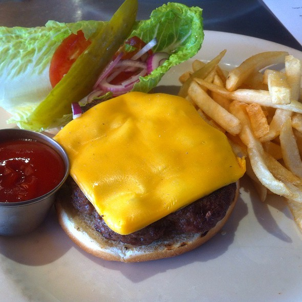Cheese Burger - Hearth on 25th, Ogden, UT