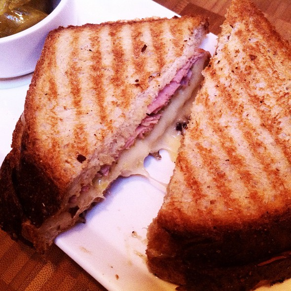 New Hamster Grilled Cheese Sandwich @ 61 Local