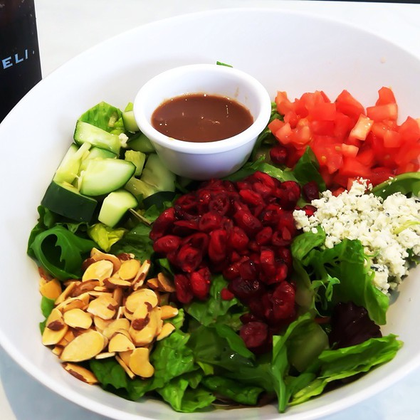 Savannah Chopped Salad @ Mcallister's Deli