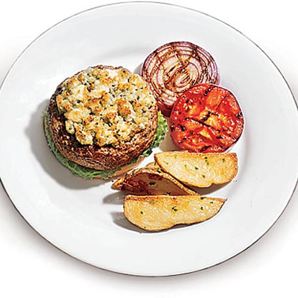 Sirloin Burger @ Prairie Grass Cafe