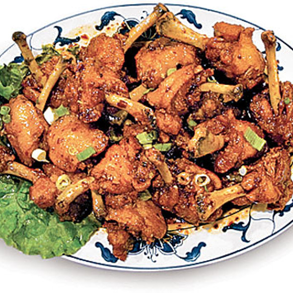 Asian-style Chicken Wings @ Great Sea Chinese Restaurant