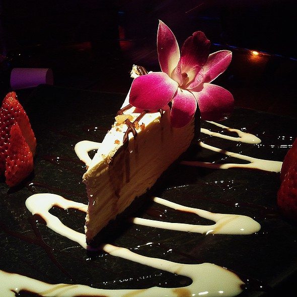 New York Cheesecake @ Blue Martini Orlando