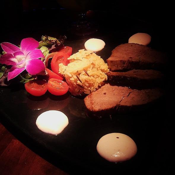 Beef tenderloin @ Blue Martini Orlando
