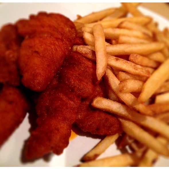 Saucy Chicken Fingers @ Duff's Famous Wings