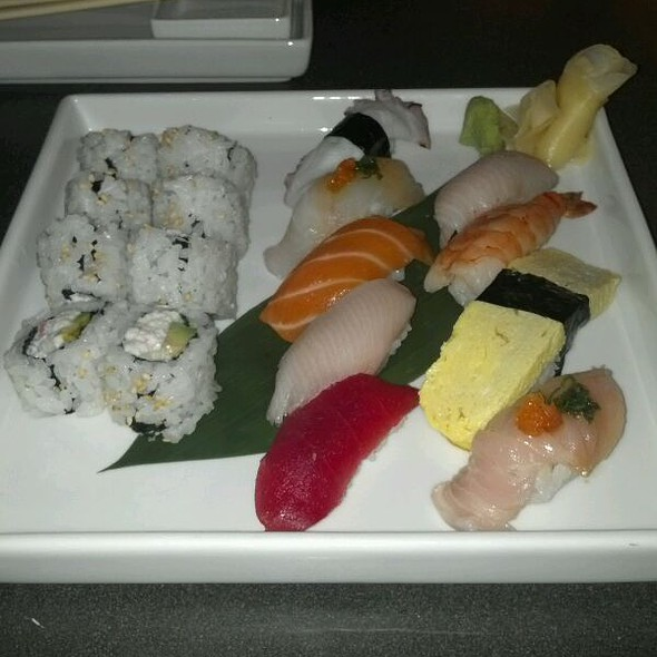 Sushi Sampler @ Katsuya By Starck - San Diego