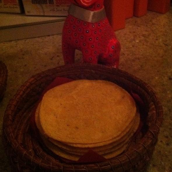 Tortillas @ Oyamel Cocina Mexicana