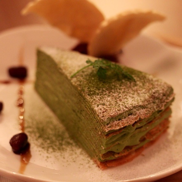 Multi-Layered Crepe With Mocha Cream @ 和茗甘味處