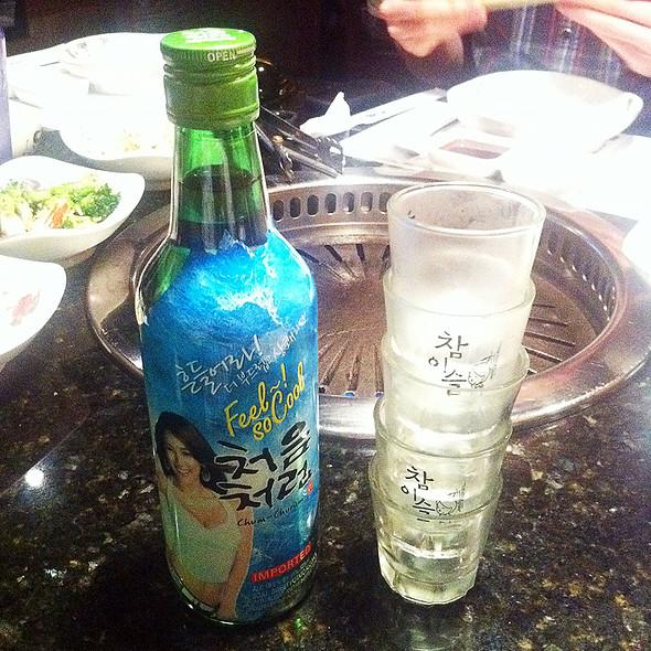 Soju @ Manna Korean Bbq