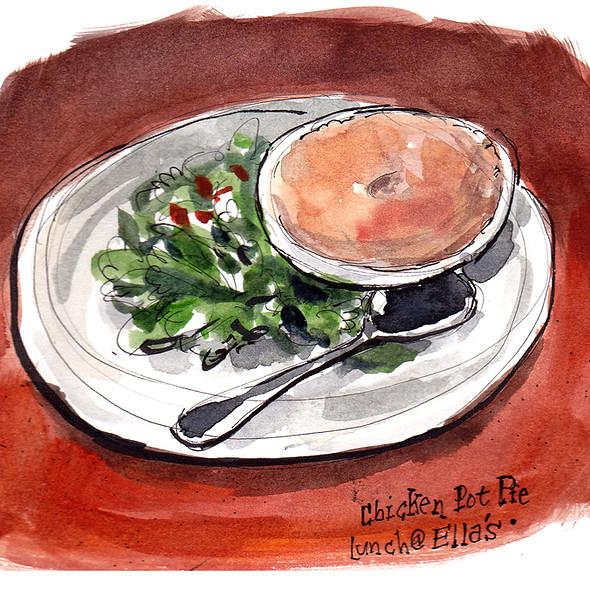 Chicken Pot Pie @ Ella's Restaurant