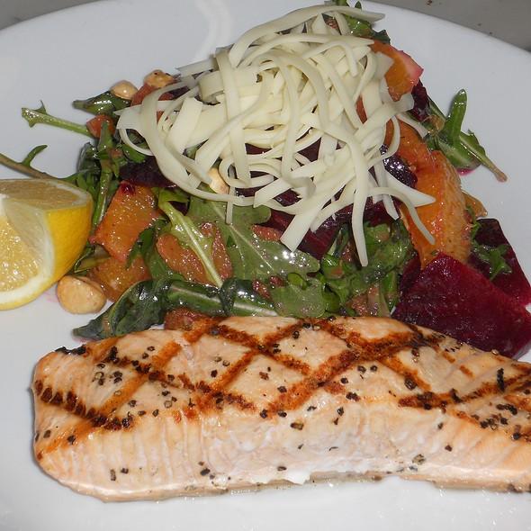 Grilled Salmon @ Il Bastardo
