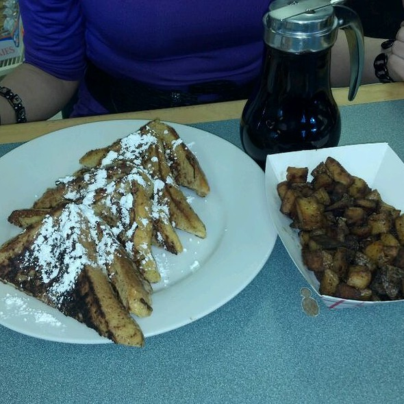 French Toast with Home Fries @ Slater's Deli 2