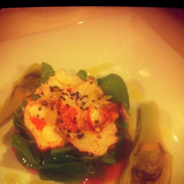 Maine Lobster Salad Watercress And Citrus Vinaigrette @ Rue Saint Jacques Restaurant