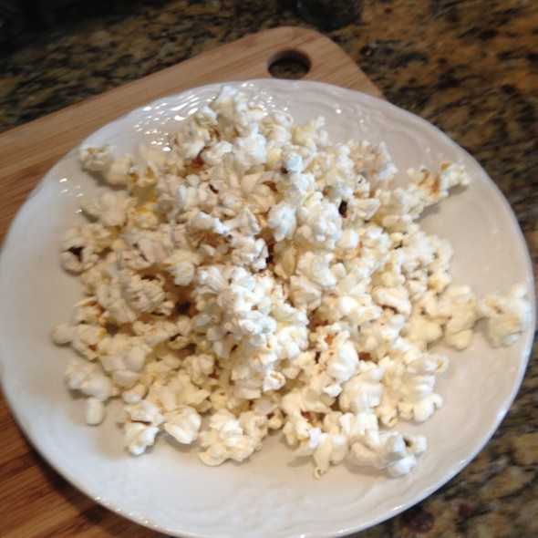 Popcorn @ At Home For A Snack