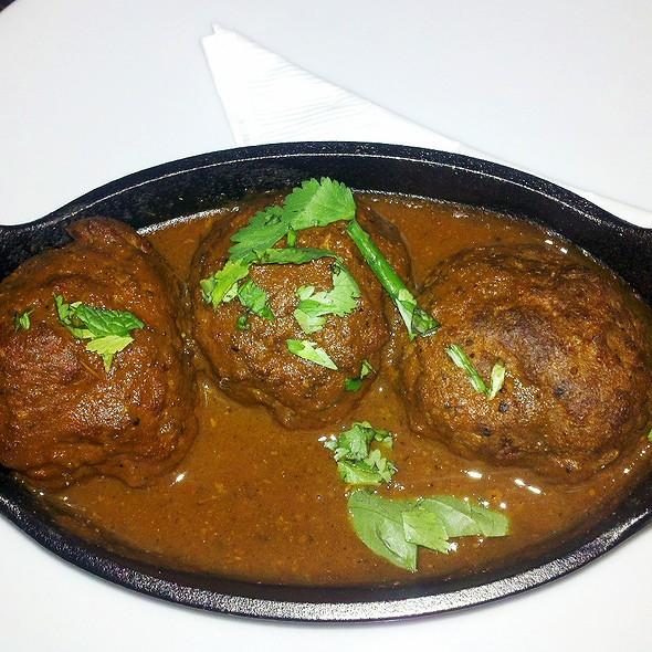 Lamb Meatballs in Vindaloo - Underbelly, Houston, TX