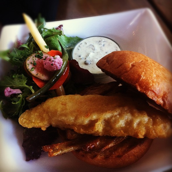 Fish & Chip Butty @ CommonWealth Café and Public House