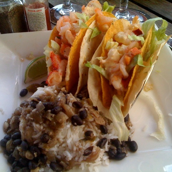 Lobster & Shrimp Tacos @ Gordon Biersch Brewery Restaurant