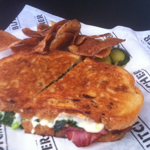 Buckboard Bacon Melt @ Cochon Butcher