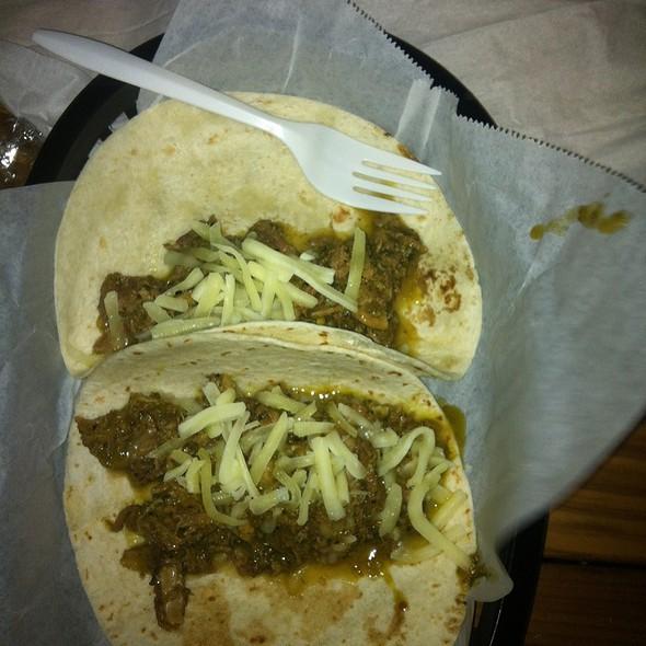 Green Chili Pork Taco @ Javelina