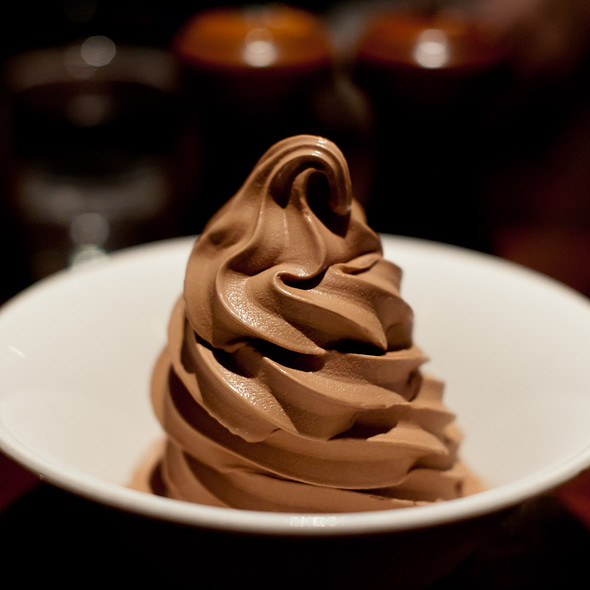 chocolate soft serve @ Zero Zero
