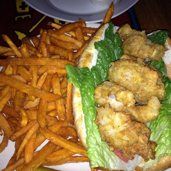 Oyster Po' Boy @ The Cock N' Bull Pub