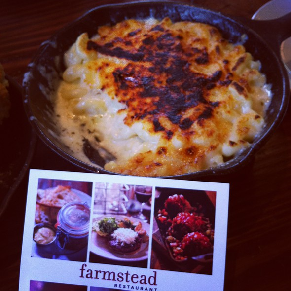 Mac and Cheese @ Farmstead at Long Meadow Ranch