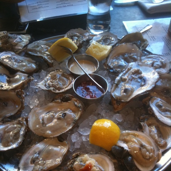 Oysters @ Fish