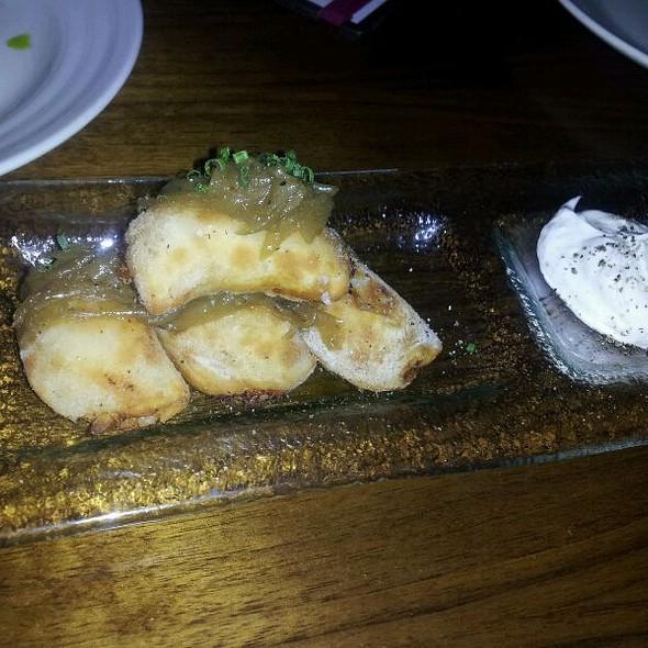 Potato & Goat Cheese Pierogies - The Stanton Social, New York, NY