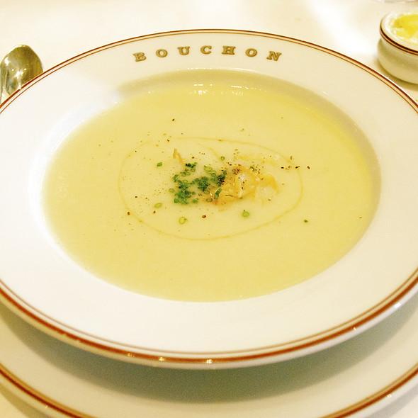 Potato Leek Soup @ bouchon bistro