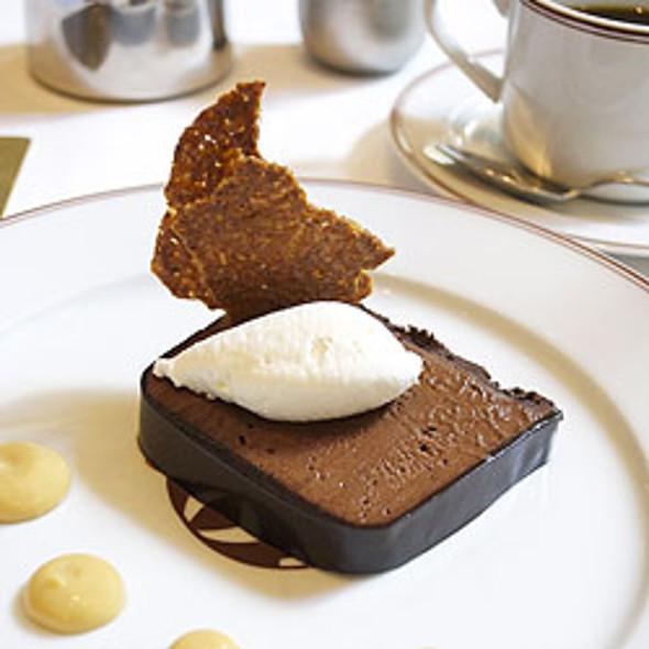 Chocolate Mousse Cake @ bouchon bistro