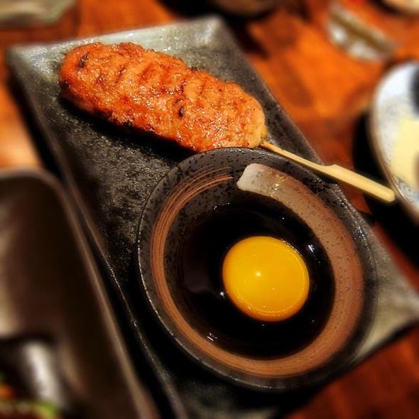 Chicken Tsukune @ Nojo