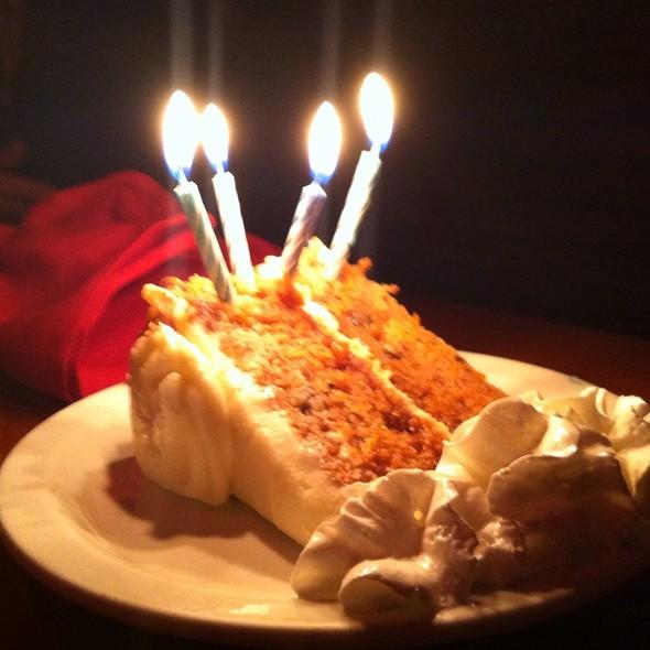 Birthday cake - The Galley, Santa Monica, CA