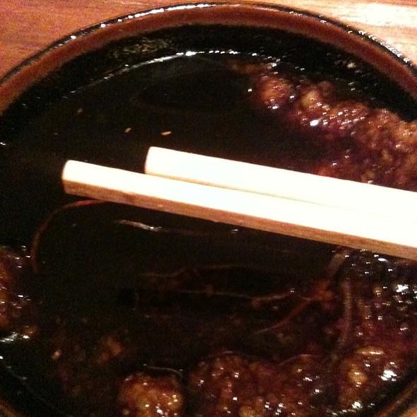 Soy And Wasabi @ Blue Ribbon Sushi Bar & Grill