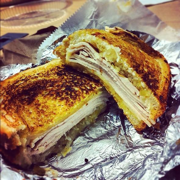 Turkey Reuben @ Eisenberg Sandwich Shop