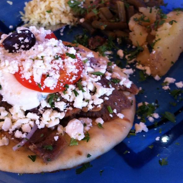 Gyro - Santorini Greek Kitchen, Indianapolis, IN