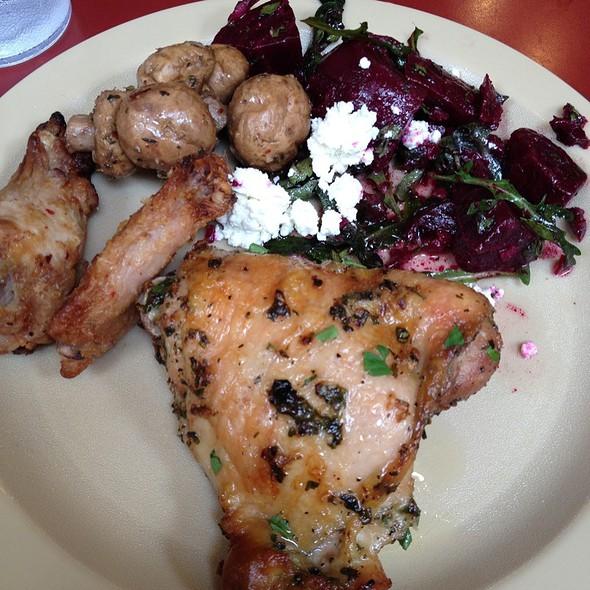 DELI PLATE @ Sacramento Natural Foods Co-op